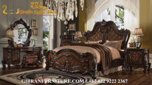 Gambar Kamar Set Jati Mewah Minimalis, Tempat Tidur Ukiran Jepara Klasik