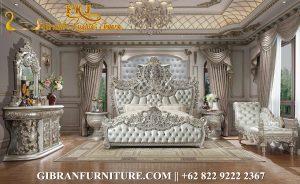 Gambar Tempat Tidur Classic Modern Mewah, Kamar Set Mewah Ukiran Jepara