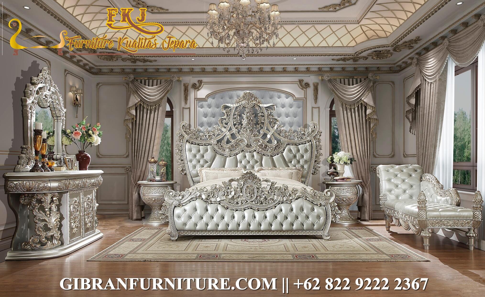 Gambar Tempat Tidur Classic Modern Mewah