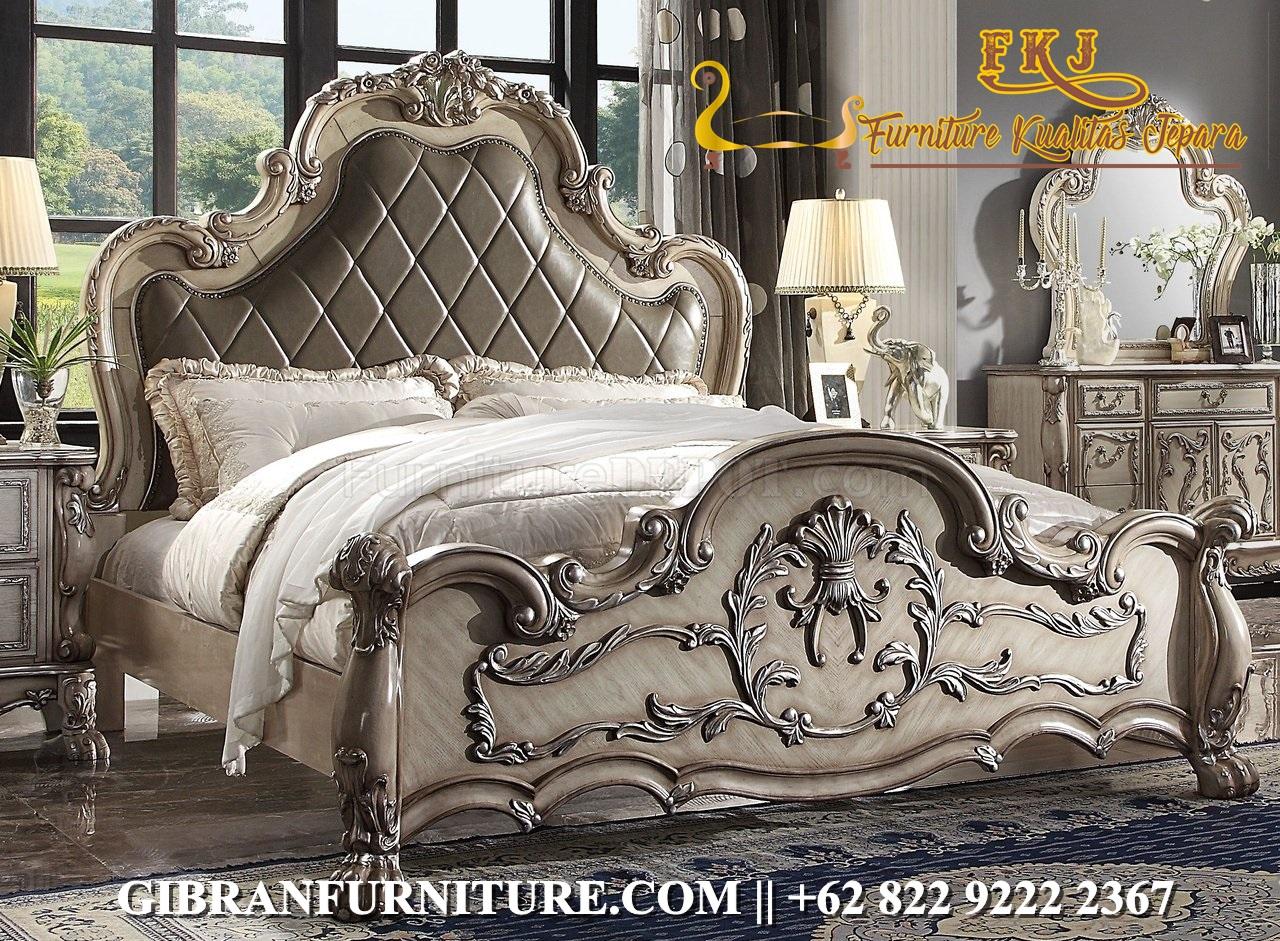 Model Kamar Tidur Set Klasik Ukir
