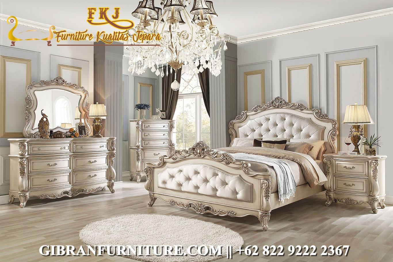 Model Kamar Tidur Set Ukiran Jepara Klasik