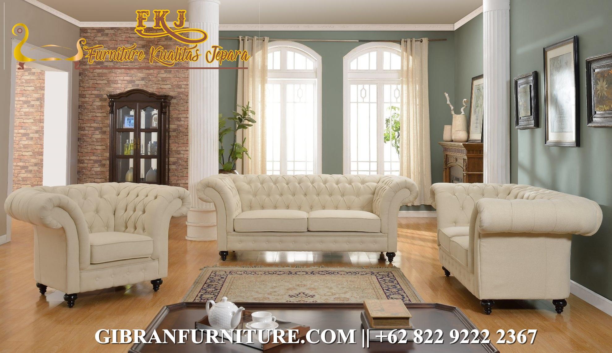 Set Sofa Tamu Minimalis Chester