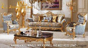 Set Sofa Tamu Ukiran Jepara, Kursi Sofa Tamu Mewah Klasik Modern