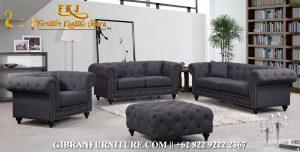 Sofa Ruang Tamu Minimalis Chester, Gambar Kursi Tamu Minimalis Jati Jepara