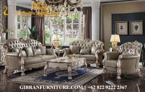 Sofa Tamu Mewah Klasik Modern, Set Sofa Tamu Minimalis Terbaru