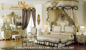 Kamar Set Mewah Ukiran Classic, Tempat Tidur Mewah Klasik Modern Jepara