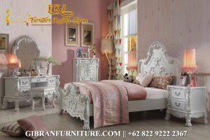 TTD-040 Kamar Set Modern Terbaru Classic, Set Tempat Tidur Mewah Klasik Modern