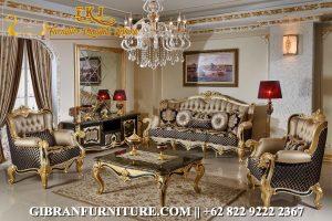 Set Kursi Tamu Ukiran Jepara Mewah, Set Sofa Tamu Mewah Klasik Modern