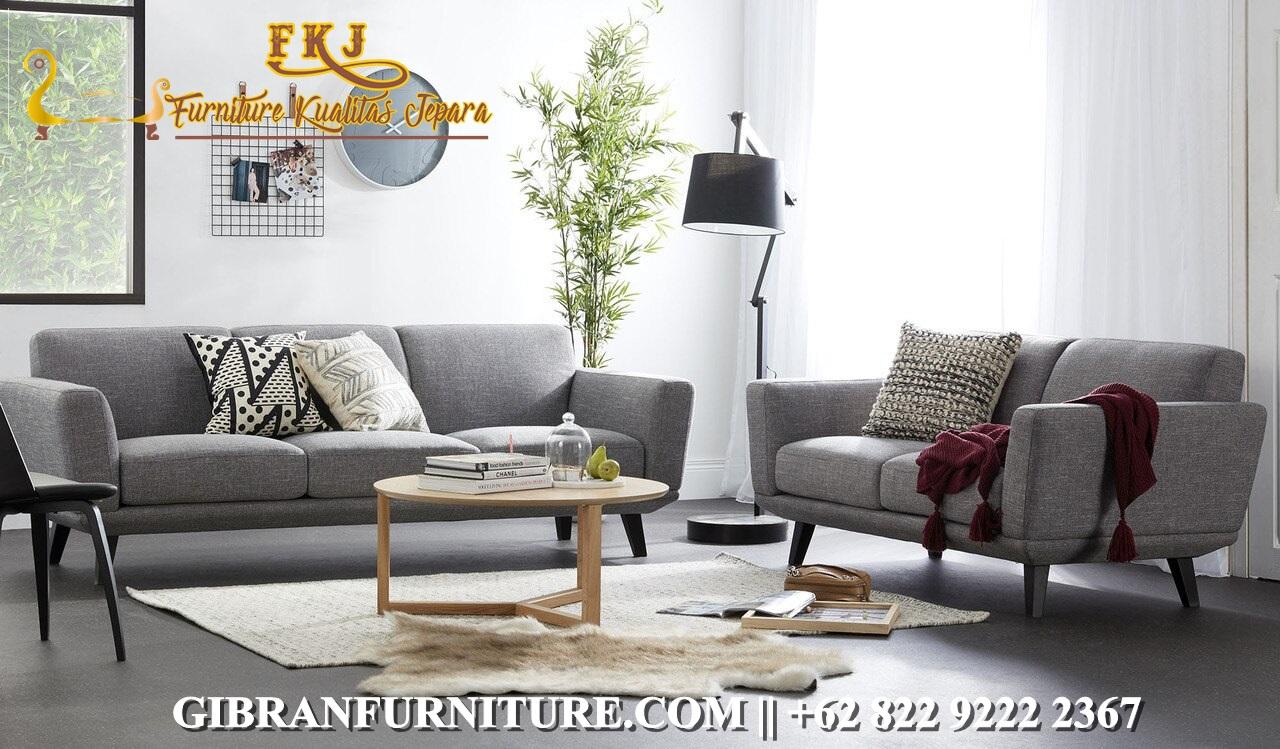 Set Sofa Tamu Minimalis Jati Terbaru