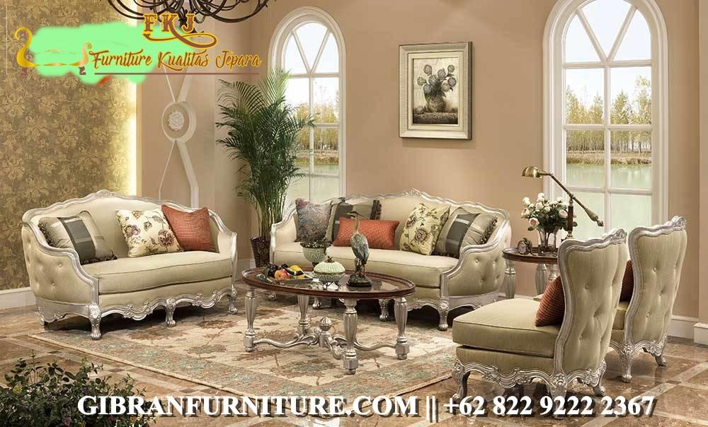 Sofa Tamu Mewah Minimalis Modern