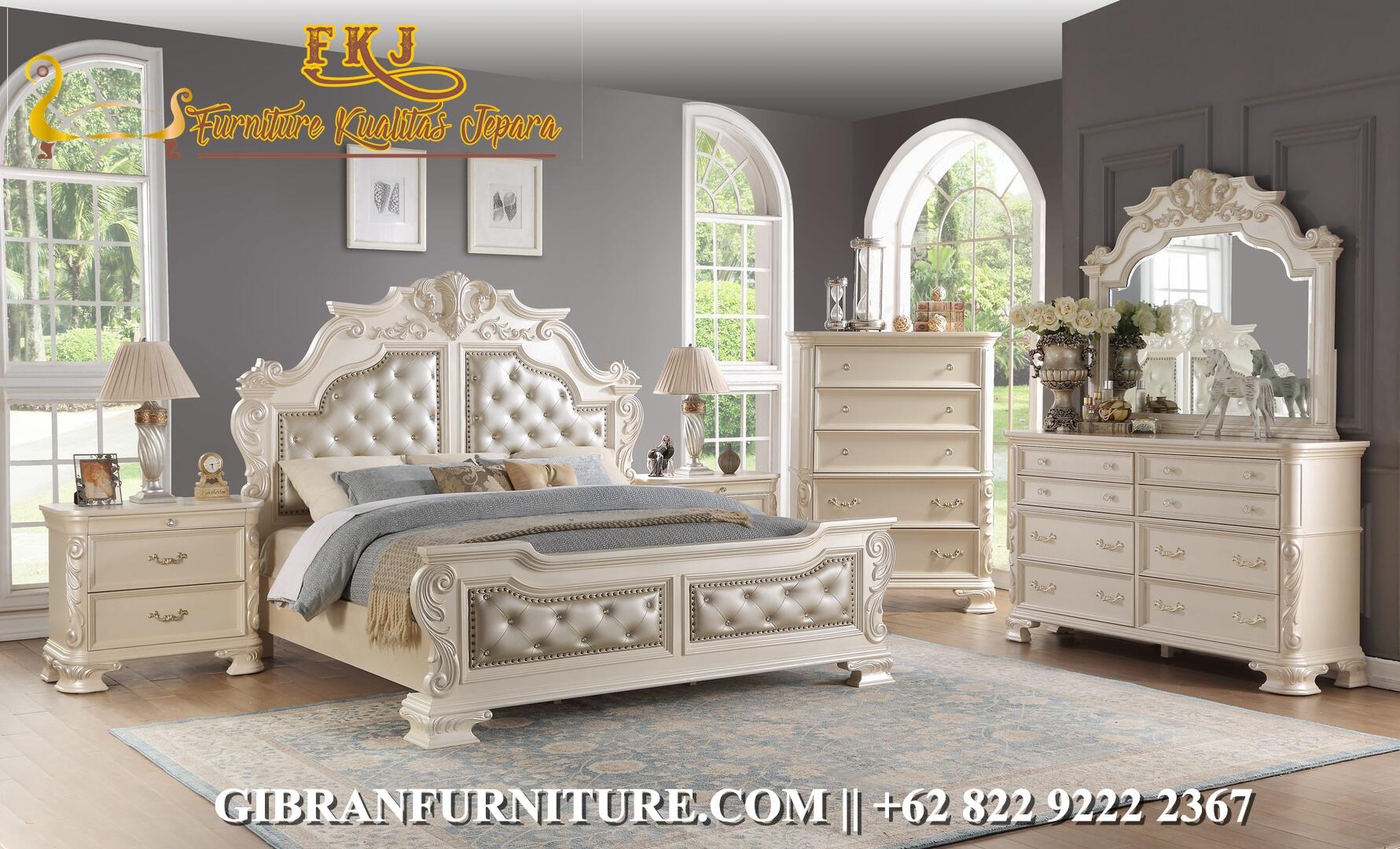 Tempat Tidur Mewah Victorian Klasik Modern