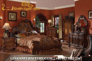 Gambar Tempat Tidur Ukir Jati Jepara, Kamar Set Mewah Classic Modern