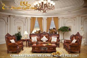 Kursi Sofa Tamu Mewah Jati, Gambar Sofa Ruang Tamu Ukiran Jati Terbaru