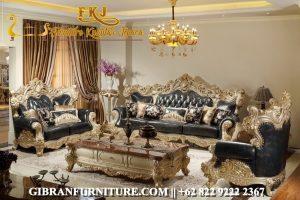 Kursi Sofa Tamu Mewah Ukiran Jepara, Sofa Ruang Tamu Klasik Modern