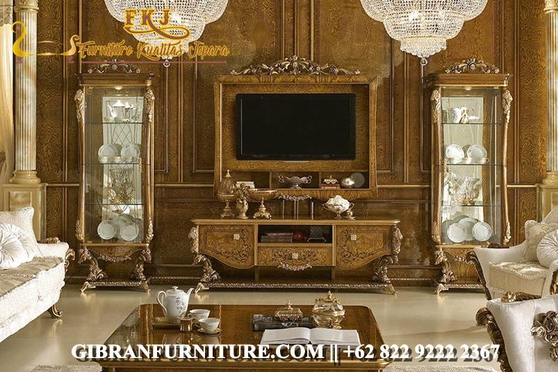 Set Bufet TV Mewah Modern Terbaru