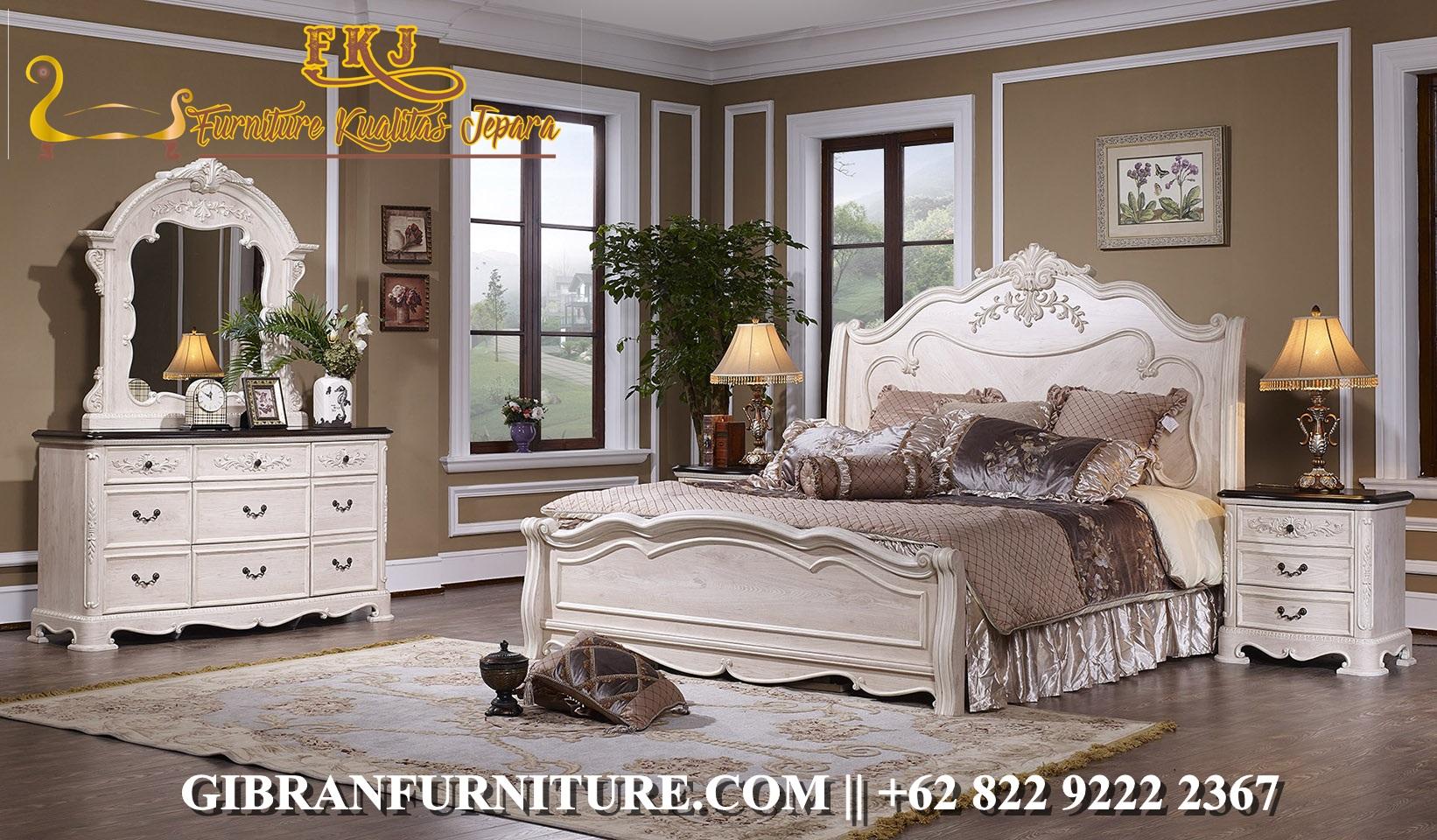 Set Tempat Tidur Klasik Jepara