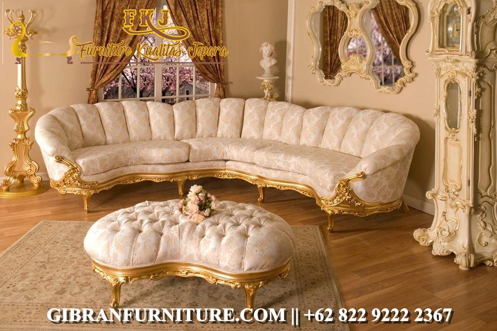 Sofa Ruang Keluarga Klasik Modern