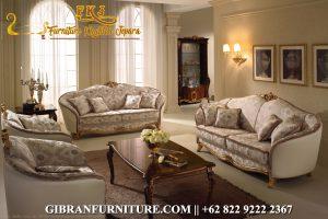 Sofa Ruang Tamu Minimalis Jati, Kursi Tamu Mewah Ukiran Jepara